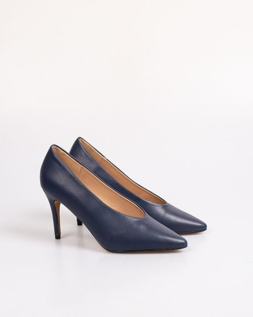 Pantofi dama Adam's cu toc si brant din piele naturala 2103601036