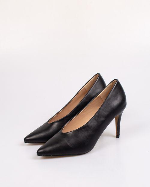Pantofi dama Adam's cu toc si varf ascutit 2103601037