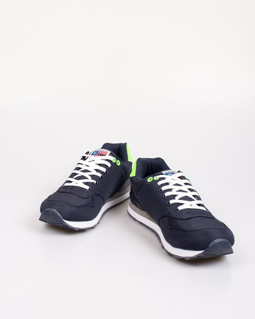 Pantofi sport GREENHOUSE POLO cu imprimeu si siret 2103601051