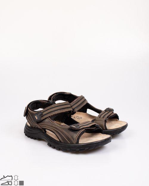 Sandale Adams din piele naturala cu arici pentru barbati 2103601070