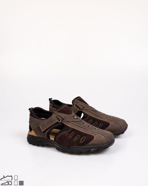 Sandale Adams din piele naturala pentru barbati 2103601072