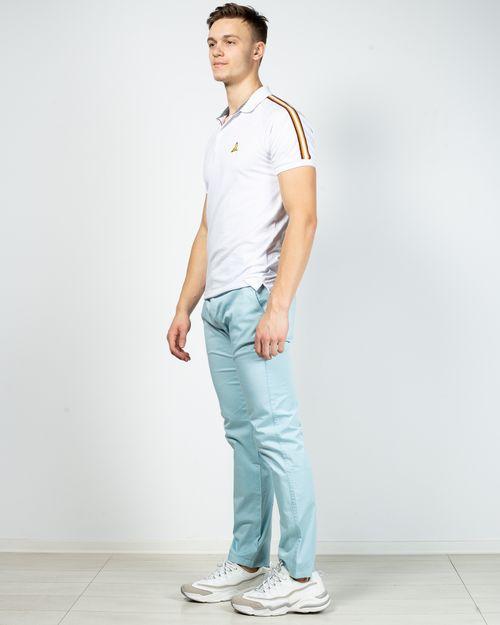 Pantaloni drepti din bumbac cu buzunare 2101901054