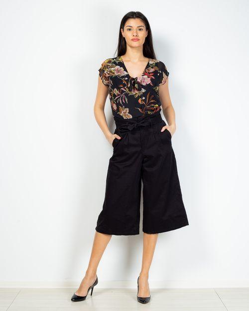 Pantaloni trei sferturi cu talie elastica 2101901031
