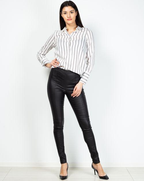 Pantaloni dama cu talie elastica si fermoar lateral 2101101009
