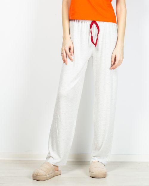 Pantaloni de pijama din bumbac tricotat 2101002131